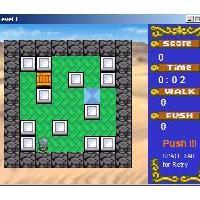 Box World (เกมส์ เลียนแบบ Sokoban มีทั้งหมด 40 ฉาก)
