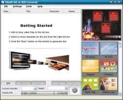 Xilisoft AVI to DVD Converter (โปรแกรมแปลงไฟล์ AVI เป็น DVD ) :