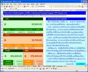 Personal Financial Program : PFP (โปรแกรม บริหารการเงิน ส่วนบุคคล)