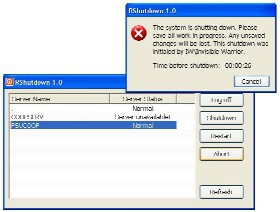 Remote Shutdown (โปรแกรม ตั้งเวลา สั่งปิดเครื่อง อัตโนมัติ)