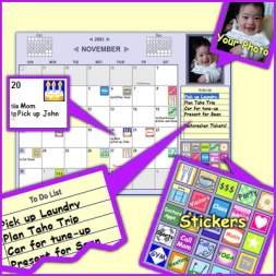 Monkeymen Calendar (โปรแกรมสร้างปฏิทิน แจ้งเตือน วันเกิดเพื่อน นัดหมายสำคัญ น่ารักๆ)