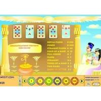 Egyptian Pyramids Videopoker