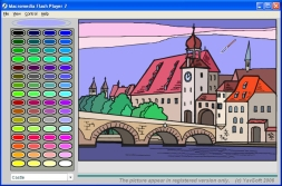 Online Magic Colouring