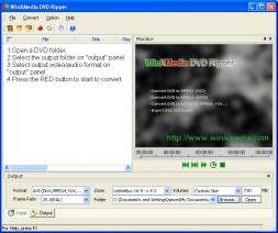 โปรแกรมแปลงไฟล์ WinXMedia DVD Ripper