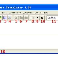 Cute Translator (โปรแกรม ช่วยแปลภาษา หลัก 12 ภาษา)