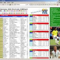 WorldCup 2006 Electronic Chart (Excel)