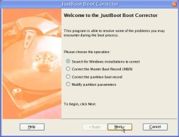 JustBoot Password Cleaner