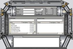 Robust FTP And Download Manager (โปรแกรมรับส่งไฟล์ ดาวน์โหลดไฟล์) :