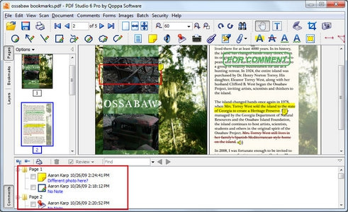 PDF Studio (โปรแกรมเอกสาร ไฟล์ PDF )