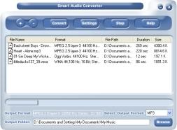 Smart Audio Converter Pro (โปรแกรม แปลงไฟล์เสียง)
