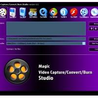 Magic Video Capture/ Convert/ Burn Studio