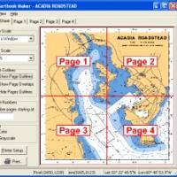 Chartbook Maker (โปรแกรมสำหรับพิมพ์ชาร์ตทางทะเลแบบแสดงผลเต็ม)