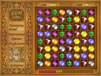 Gem Zone (เกมเรียงสีของเพชร ฝึกทักษะ สมอง ให้ว่องไว เหมือน Bejeweled)
