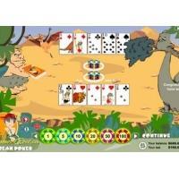 Dinosaur Caribbean Poker