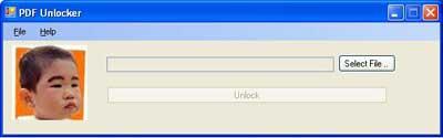 โปรแกรมปลดล็อค PDF Unlocker