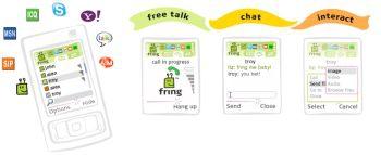 Fring (โปรแกรม มือถือ คุยฟรีผ่านอินเทอร์เนต)