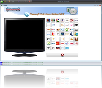 Nanosoft RSS News ( โปรแกรมอ่านข่าว , ดูทีวี , ฟังวิทย ผ่าน Internet )