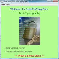 CodeTukyang.Com Mini Cryptography