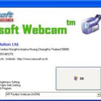 Nanosoft WebCam (โปรแกรม แสดงภาพ จากเว็บแคม)