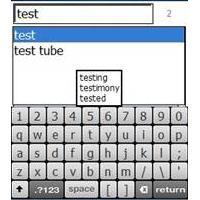 Touch Dictionary (โปรแกรม พจนานุกรม ทัช ดิกชันนารี สำหรับ Windows Mobile)