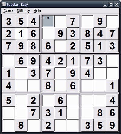 Sudoku Portable (สุดยอด เกม ลับสมอง และ ปัญญา ต้นตำหรับจาก ประเทศฝรั่งเศส)