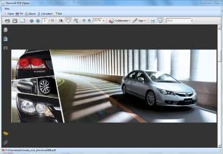 โปรแกรมเปิดไฟล์เอกสาร Nanosoft Free PDF Viewer