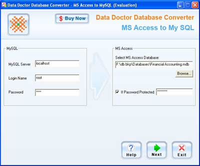 Migrate Access Database To SQL (โปรแกรม แปลงฐานข้อมูล Access ไปเป็น MySQL)