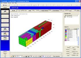 Container Management (โปรแกรมคำนวณ การจัดเรียงสินค้า 3 มิติ)
