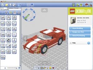 โปรแกรมเกมส์ Lego Digital Designer