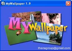 MyWallpaper (โปรแกรมเปลี่ยน Wallpaper บนเครื่องคอม อัตโนมัติ)