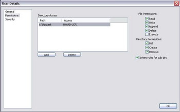 โปรแกรมทำเซิร์ฟเวอร์เก็บไฟล์ Core FTP Server