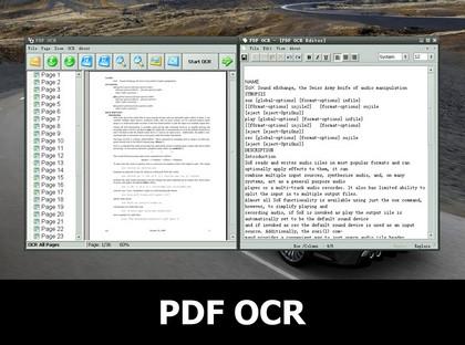 PDF OCR - OCR PDF Document to Editable Text (โปรแกรม แปลงไฟล์จาก PDF กลับไปเป็น Text แจกฟรี !)