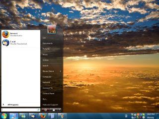 ViGlance ( โปรแกรมที่จะเปลี่ยนTaskbar ของ Windows XP )