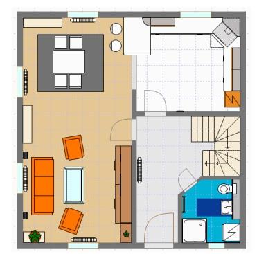 โปรแกรมตกแต่งภายใน ออกแบบภายในบ้าน Room Arranger