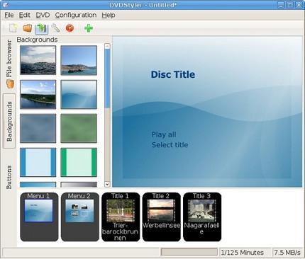 โปรแกรมไรท์ DVD โปรแกรมสร้าง DVD