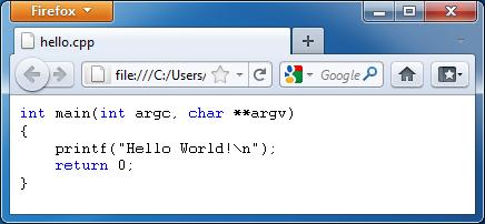 cppHTML (โปรแกรม ช่วยแปลงโค้ดภาษา C ให้เป็นไฟล์ HTML แจกฟรี)