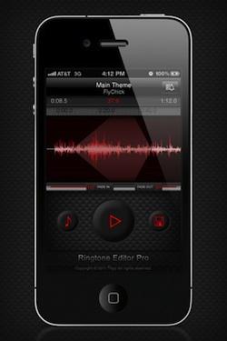 Ringtone Editor Pro (App  ทำริงโทน บนไอโฟน)