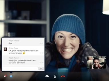 Skype for iPad (โปรแกรม พูดคุย ทั้งภาพ เสียง ข้อความ ที่นิยมมากที่สุดในโลก บน iPad)