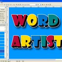 Word Artist (โปรแกรม ประดิษฐ์ตัวอักษร)
