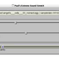 Paul Extreme Sound Stretch (โปรแกรม ปรับแต่งเสียง ให้ยืดยาวขึ้น หรือ สั้นลง)