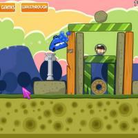 Angry Aliens (เกม แอคชั่น ยิงเอเลี่ยน พิทักษ์โลก สไตล์ Angry Bird แจกฟรี)