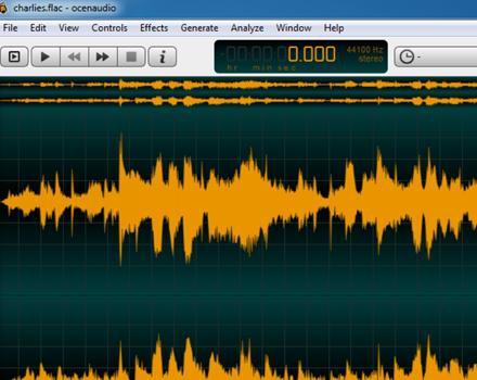 Ocenaudio (โปรแกรม Ocenaudio ตัดต่อเสียง คุณภาพดี ใช้ได้ทุก OS) :