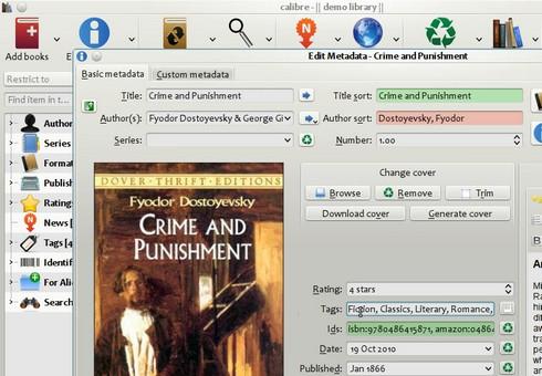 โปรแกรม Calibre ดาวน์โหลด E-Book