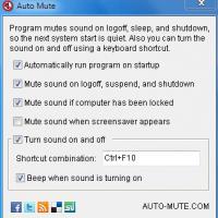 Auto Mute (โปรแกรม ปิดเสียง ให้โดยอัตโนมัติ แจกฟรี)