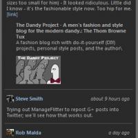 Google+ Windows Desktop Gadget (โปรแกรม ดึงข้อความ จาก Google+ มาไว้บนเครื่อง)