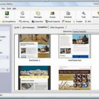 GroupMail Free Edition (โปรแกรมสำหรับบริหารจัดการ E-Mail)