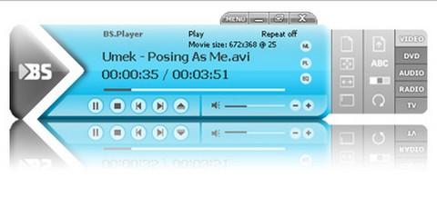 โปรแกรมดูหนังฟังเพลง BS.Player