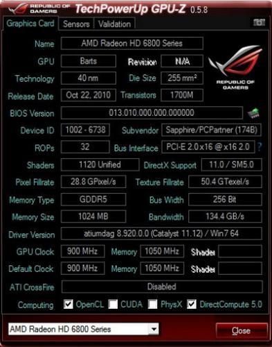 GPU-Z (โปรแกรม GPU-Z ทดสอบการ์ดจอ NVIDIA ATI Intel ฟรี) :
