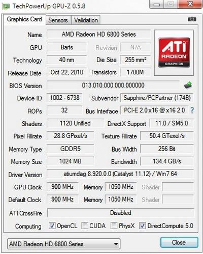 โปรแกรมทดสอบการ์ดจอ GPU-Z