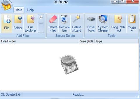 XL Delete (ลบไฟล์ทิ้งแบบไม่ให้เหลือซาก กู้ไม่ขึ้น) :